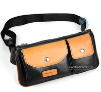 Genuine leather waist pack male casual first layer of cowhide chest pack multifunctional mobile phone cross-body bag
