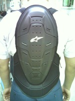 A motorcycle back support automobile race flanchard armor skiing flanchard free shipping