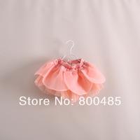 Children's personality petals waist skirt baby tutu skirt candy color 5pcs/lot