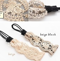 5pcs/lot HOT lace flower elastic headband hairband hair accessory th07