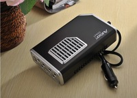 AUKSON 350W car inverter 12V turn 110V plug -row vehicle power socket converter