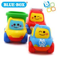 Blue box baby toy car mini swing car 3 combination