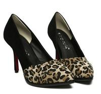 New Arrival Fashion Ladies High Heels leopard Shoes Panther Print Shoes Size EUR 35-39 Evening Shoes