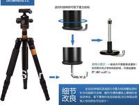 q666 Aluminum 5-sections Tripod Monopod For Digital Camera 8KG Alpenstock Ballhead + Bag