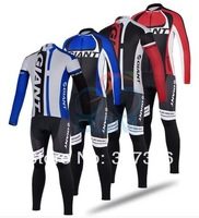 4 Color New Arrival! 2014 Giant Cycling Jersey Long Sleeve and bicicleta bib Pants/ ciclismo clothing Sportswear SZ089
