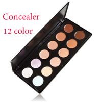 New High Quality 12 Color Concealer Palette Camouflage Neutral Palette Makeup Palette Set(1417)