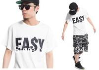 Easy T shirt  Free Shipping Men/Women  Brand Top Ea$y Tee 100% Cotton  Fashion