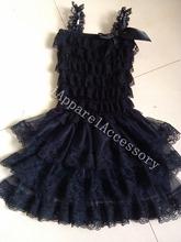 popular girls lace dress wholesale