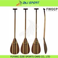 Wood Outrigger Canoe Paddle