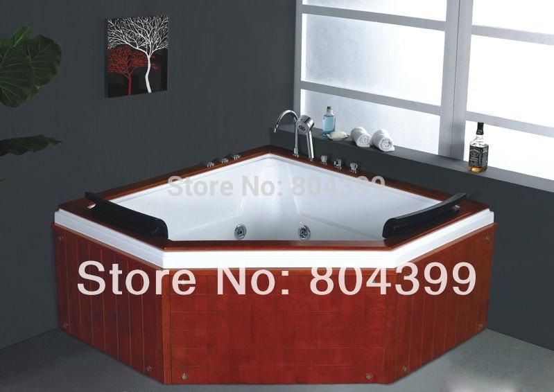 No b283 en bois baignoire baignoire int rieure baignoires faisant la mac - Baignoire pour deux personnes ...
