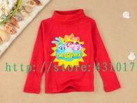 Hot selling in Russia and Ukraine Smeshariki spring cartoon children's T-shirts 2-10 Age boy's girl's kids t shirt