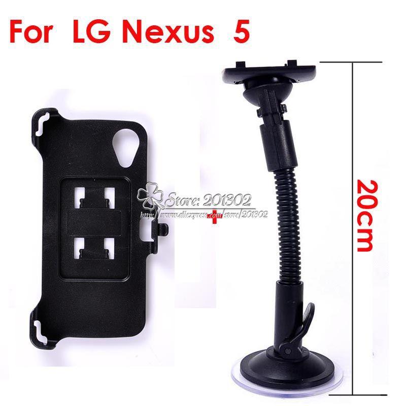 Car Mount sucção Stand titular preto pára-brisas pára-brisas para LG Google Nexus 5 E980(China (Mainland))