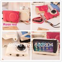 Wholesale! camera case PU leather bag for Samsung Galaxy GC200 EK-GC200 camera bag gc200 imitation leather case
