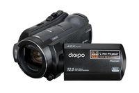 HD Digital Camera HDV-P360 with HD 1080P DLP projector  10 x optical zoom 3 inch screen
