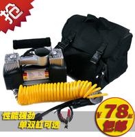 Car air pump car air pump double cylinder car tyre pump up high pressure electric pump
