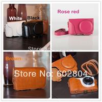 Wholesale! Fashion gc200 camera PU leather case bag for Samsung Galaxy GC200 EK-GC200 imitation leather case camera bag