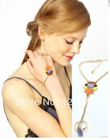 2014 New Arrival Fashion Charming Hand Chain Jewelry Bracelet One Set Jewelry Products for Women