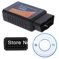 50pcs/Lot Free shipping Bluetooth Scanner OBD2 OBD II Diagnostic Interface V1.4