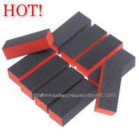 Wholesale Nail Art Tool Sided Sanding File buffing Block Sponge File Salon Buffer Manicure 100pcs/lot free shipping