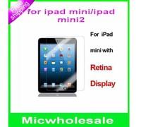 in stock !! HD Clear glossy Screen Protector Guard Cover Film Shield For ipad mini 2 Mini2   Retina with cloth