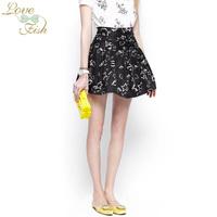 2014 spring women's pattern all-match bust skirt high waist short skirt yh-0960