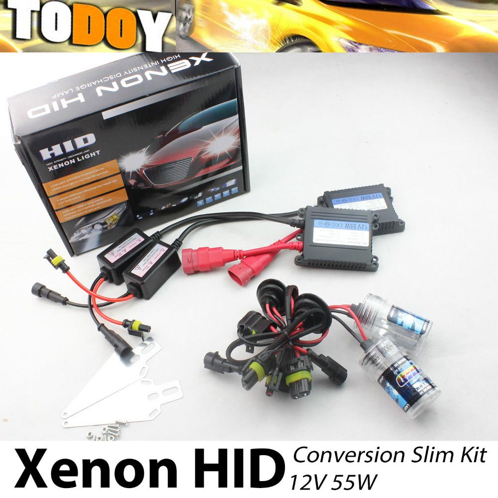 AC 12V 55W Auto HID Conversion Kit Xenon Headlight 3000K-30000K Fog Light HID Car headlight Supra(96-98) RW3 Car Styling(China (Mainland))