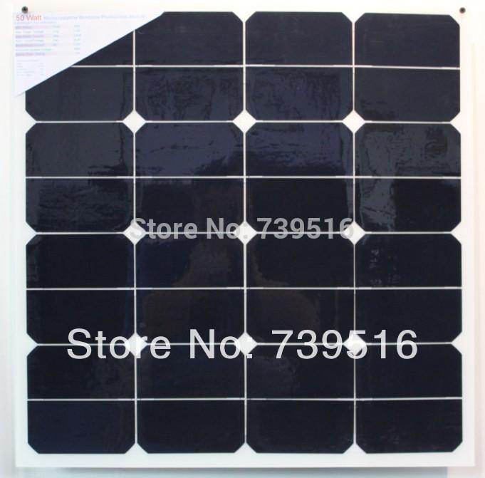 Solar 12v Flexible Flexible Solar Panel For