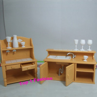 New arrival birthday gift play house 1/12 mini doll for children furniture for mini kelly barbie doll