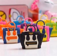 Free Ship 10pcs/lot new 2014 Best selling lovely handbag dustproof plug satchel shoulder bag purse dust plug headphone jack plug