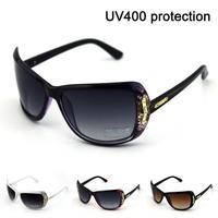 2014 new arrival sunglasses women brand designer lady Silver Mirror Vintage Sunglasses Women Glasses Hot free shipping 575