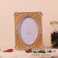 Europe Vintage Zinc Alloy Metal Picture and Photo Rack Handicraft Embellishment Furnishing for Decor and Gift. Free Shipping