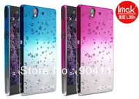 2Color,Imak Raindrop Clear Hard Case For Sony Xperia Z L36h L36i With Free Screen Protector,Free Shipping