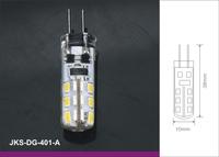 free shipping 10pcs/lot Ceramic High Power SMD3014 LED 1.5W lamp bulb 12V  wholsale  warranty 2 years