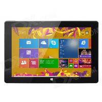 """CUBE U100GT 10.1"""" HD IPS Intel Atom Quad Core Windows 8.1 Tablet PC w/ 2GB RAM, 32GB ROM - Black"""