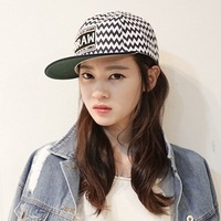 snapback caps 2014 wavingness draw hat flat along the cap sun baseball cap male women's hiphop cap
