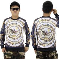 2014 fashion sweatshirt  3d hoodies element large size hip hop wear mens sweatshirts crewnecks asap giv