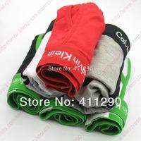 High Quality Men Underwear Boxers Cotton Underwear Mens Boxer Shorts 5pcs/lot Mix Order with Retail Bag