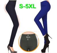 S~5XL Women 8 Candy Colors High Waist Skinny Pencil Fleece Long Patns Brand Autumn Winter Thickening Boot Cut Legging Trousers