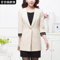 Elegant formal fashion 2014 spring outerwear suit  Free shipping