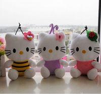 20cm hello kitty plush hello kitty birthday present soft toy kids toy girlfriend's gift one set free shipping