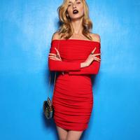 women clothing Krazy sexy perfect charming elegant slit neckline elegant knitted bag skirt 6171