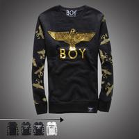 Boy london gold eagle lovers pullover sweatshirt eagle outerwear