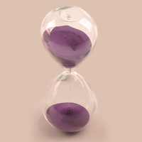 Mxmade aesthetic crystal glass hourglass timer birthday gift girls gift
