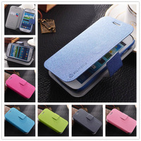 Flip PU Leather Case For Samsung GALAXY Trend Duos S7562 Cover S 7562 GT-S7562 Case Stand Style Freeshipping