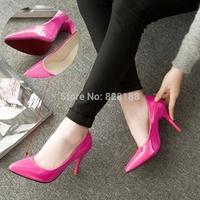 2014 Spring Fashion Shallow Cusp Popular women shoes Women pumps Sexy high heels Classical princess shoes Free shipping