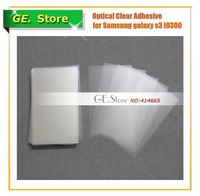 20 Pcs/lot 250um OCA Optical Clear Adhesive Double-Side Glue Tape for Samsung Galaxy S3 i9300 LCD/Digitizer Outer Glass Screen