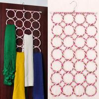 Rattan 28 underwear tie scarf silk scarf strap rack circle hanger magic hanger