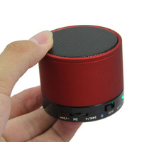 Mini Wireless Bluetooth Speaker Stereo TF Slot for MP3/4 Phone PC Red