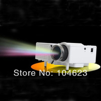"60"" Portable Mini HD LED Projector Cinema Theater PC&Laptop VGA/USB/SD/AV input"