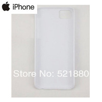 phone 5c  DIY Blank Cases 3D Vacuum Sublimation machine heat transfer  White Cases Heat Press Printing 100pcs/lot
